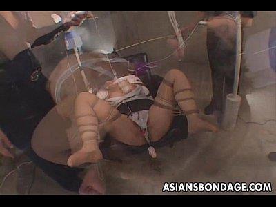【ひとずまセックス動画】巨乳な美人熟女OLを緊縛目隠しをし、バイブや電マでマンコを弄り回すアクメ調教。悲鳴に近い喘ぎ声をあげながら連続昇天。