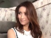 【ひとずまセックス動画】エレガントなセレブ風の美女マダムを口説き落として生ハメ中出し!